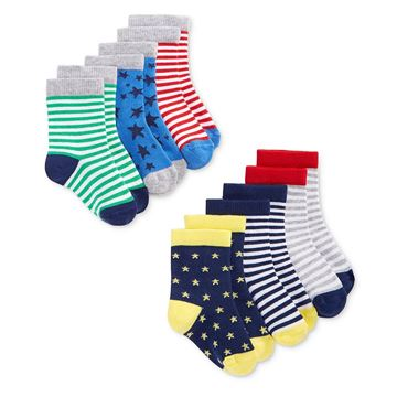 Picture of 6-pack Baby Socks Set